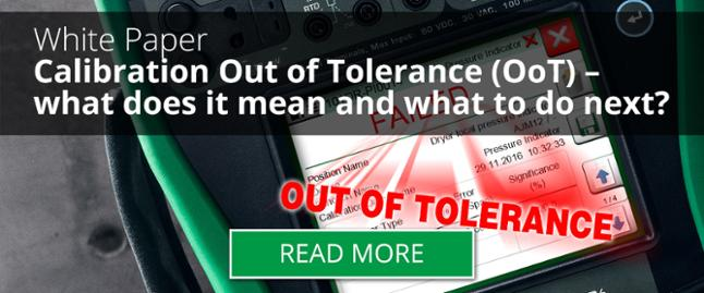 Calibration Out of Tolerance – Part 2