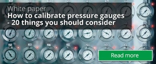 how to calibrate pressure gauges 20 things you should consider how to calibrate pressure gauges white paper