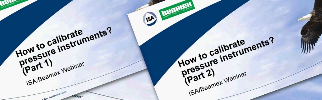 How to calibrate pressure instruments - Beamex webinar