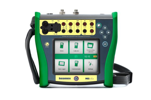 Intrinsically safe calibrator and communicator - Beamex MC6-Ex