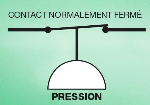 Comment étalonner un pressostat - contact normalement fermé