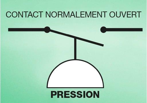 Comment étalonner un pressostat - contact normalement ouvert