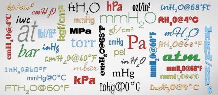 Die Grundlagen der Druckeinheiten und Druckeinheitengruppen - Beamex blog post