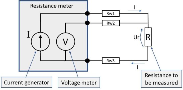resistance measurement; 2, 3 or 4 wire connection \u2013 how does it work DB Drive Amp Wiring Diagram