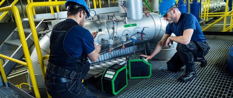 Messunsicherheitskomponenten bei einer Temperaturkalibrierung mit einem Trockenblock-Kalibrator