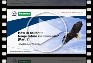 How to calibrate temperature instruments, Part 1 - Beamex webinar