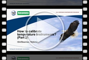 How to calibrate temperature instruments, Part 2 - Beamex webinar